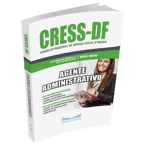 Apostila CRESS-DF 2021 - Agente Administrativo