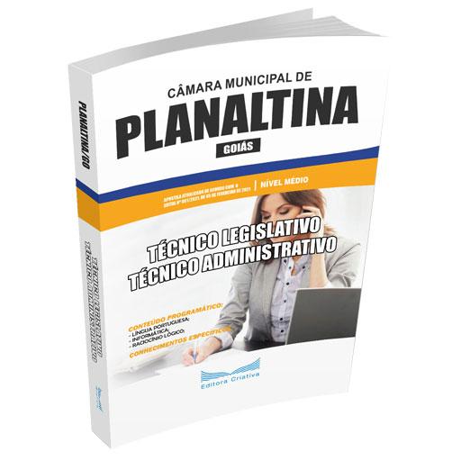 Apostila Câmara Planaltina (GO) 2021 - Técnico Legislativo - Técnico Administrativo