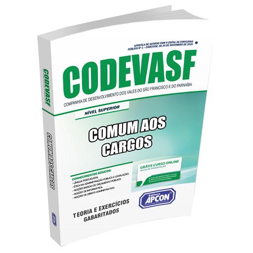 Apostila CODEVASF 2020 - Comum aos Cargos