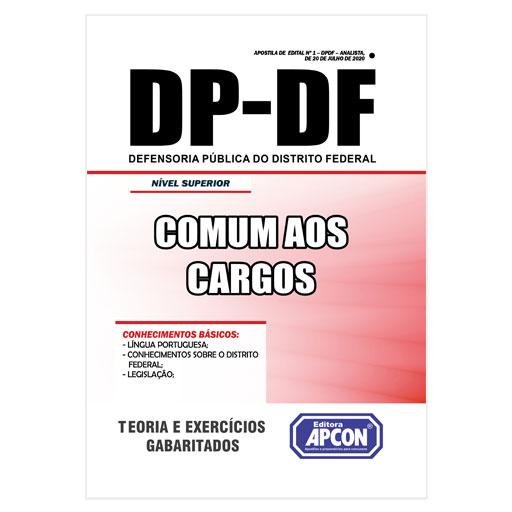 Apostila DP-DF 2020 - Comum aos Cargos