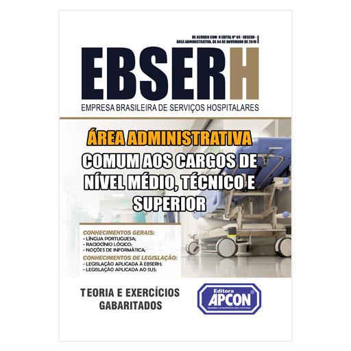 Apostila EBSERH 2019 - Comum aos Cargos - Área Administrativa