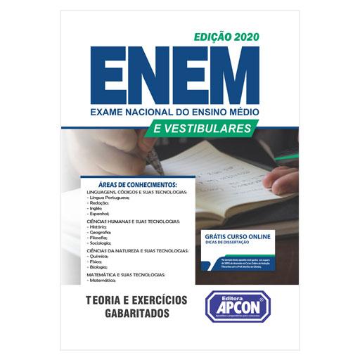 Apostila ENEM 2020 - Exame Nacional do Ensino Médio