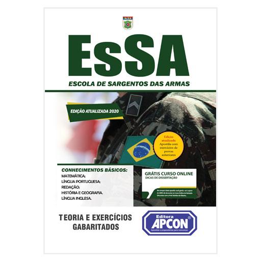 Apostila EsSA 2020 - Escola de Sargentos das Armas