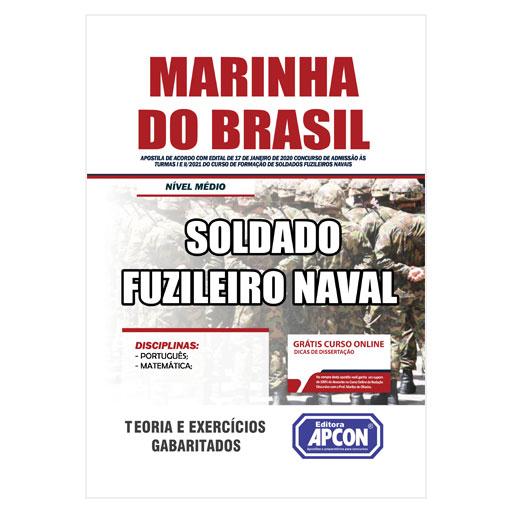 Apostila Marinha do Brasil 2020 - Soldado Fuzileiro Naval