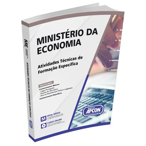 Apostila Ministério da Economia 2021 - Atividades Técnicas de Formação Específica - Nível Intermediário