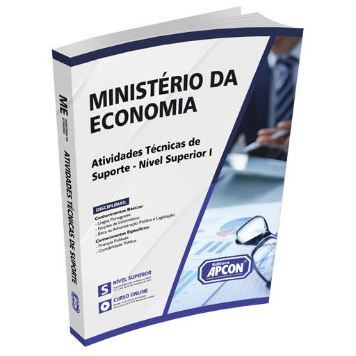 Apostila Ministério da Economia 2021 - Atividades Técnicas de Suporte - Nível Superior I