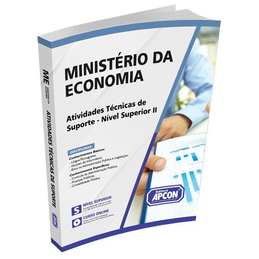 Apostila Ministério da Economia 2021 - Atividades Técnicas de Suporte - Nível Superior II