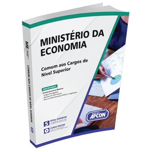 Apostila Ministério da Economia 2021 - Comum aos Cargos de Nível Superior