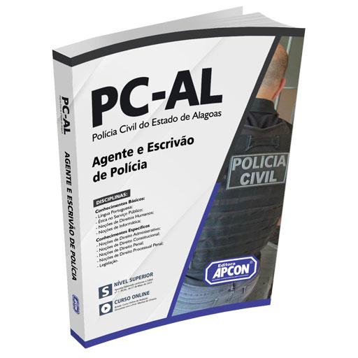 Apostila PC-AL 2021 - Agente e Escrivão de Polícia
