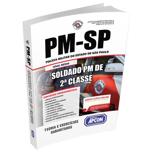 Apostila PMSP 2021 - Soldado PM de 2ª Classe do Quadro de Praças de Polícia Militar (QPPM)