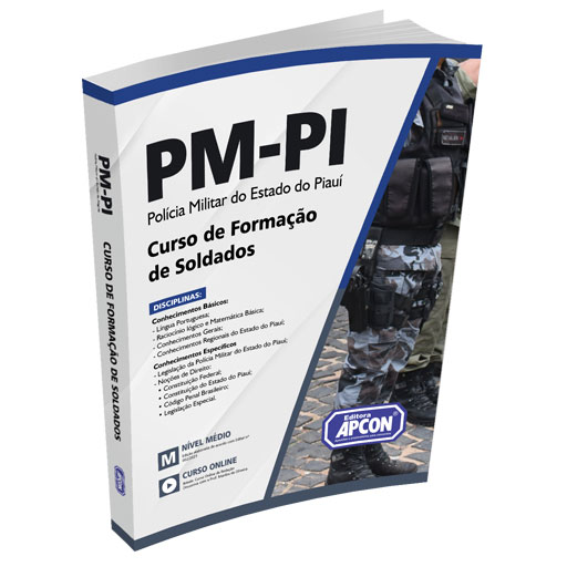 Apostila PM-PI 2021 - Curso de Formação de Soldados