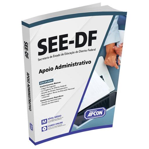 Apostila SEE-DF 2021 - Apoio Administrativo