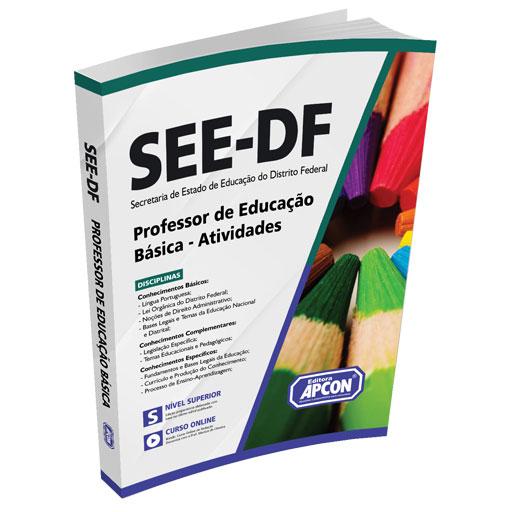 Apostila SEE-DF 2021 - Professor de Educação Básica - Atividades