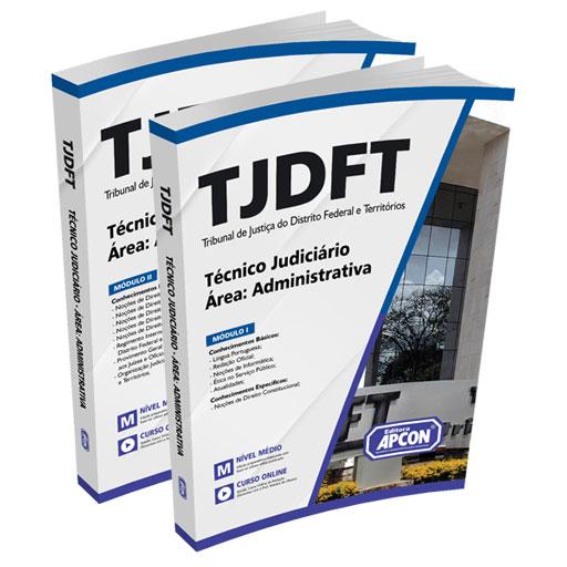 Apostila TJDFT 2021 - Técnico Judiciário - Área Administrativa