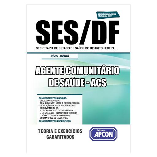Apostila SES-DF 2020 - Agente Comunitário de Saúde