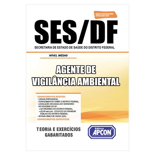 Apostila SES-DF 2020 - Agente de Vigilância Ambiental